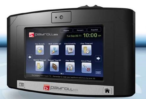 Free Biometric Clock when you switch to Payroll Data! (restrictions apply)